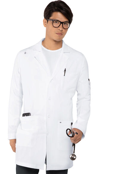 Men's Button Down Everyday Lab Coat, , large