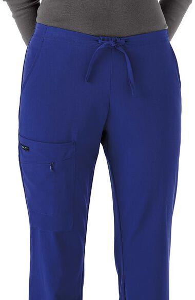 Clearance Women's Tri Blend Zipper Scrub Pants, , large