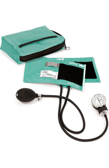 Aneroid Sphygmomanometer with Adult Cuff & Matching Carrying Case, , large