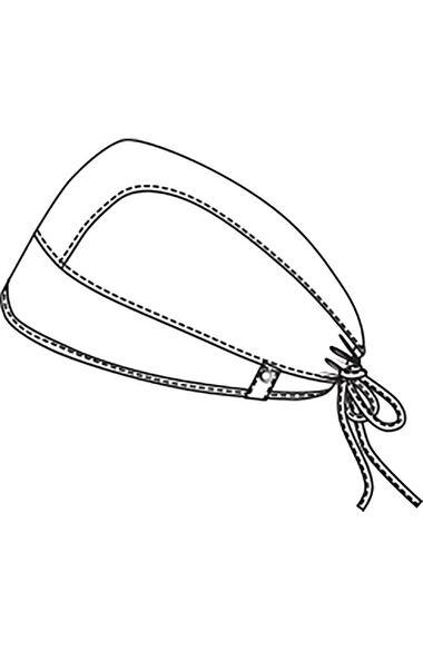 Unisex Super Hero Kick Print Scrub Hat, , large
