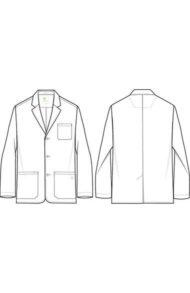 Men's Leo Lab Coat, , large