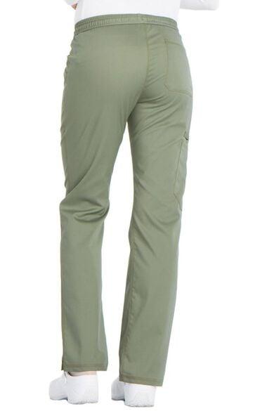 Clearance Women's Straight Leg Drawstring Scrub Pant, , large