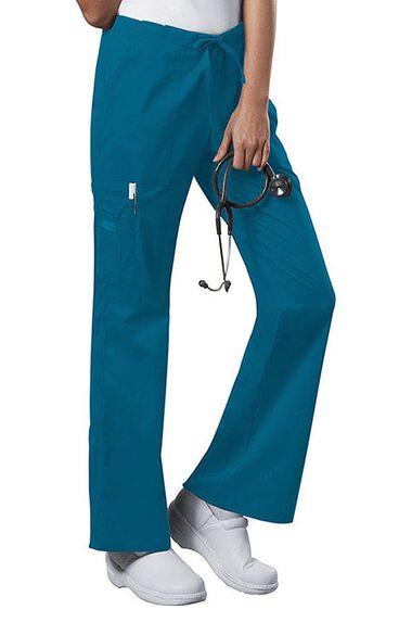 Cherokee Workwear Scrubs Stretch Women/'s PETITE Drawcord Pant
