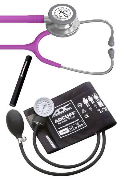 Classic III Stethoscope, ADC Phosphyg Sphygmomanometer & Prestige Penlight Kit, , large