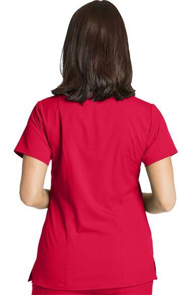 Spandex Stretch by Grey's Anatomy Women's Surplice Solid Scrub Top, , large