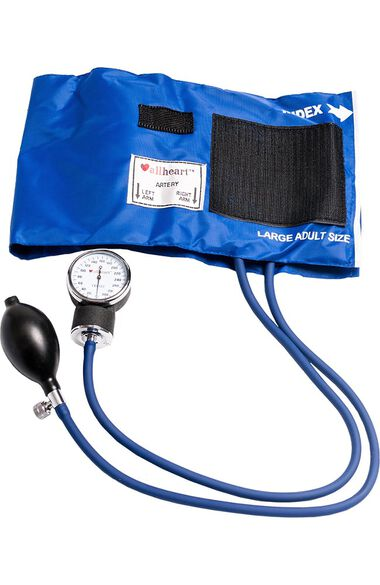 Standard Blood Pressure Aneroid with Large Adult Cuff, , large
