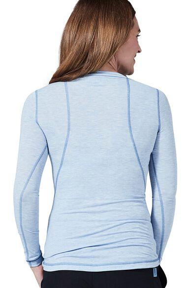 Women's Long Sleeve Underscrub T-Shirt, , large