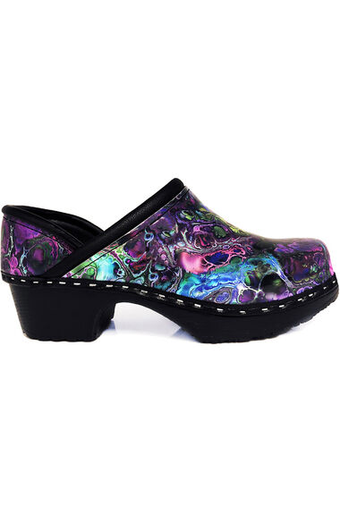 Women's Marble-Ous Print Clog, , large
