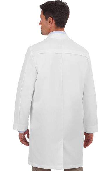 """Clearance Men's 38"""" Twill Trench Style Lab Coat, , large"""