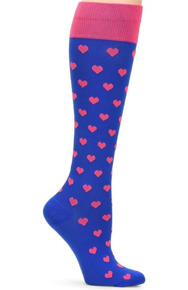 Women's Solid 20-30 Mmhg Compression Sock, , large