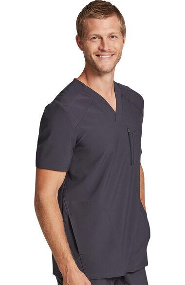 Men's Premium Solid Scrub Top, , large