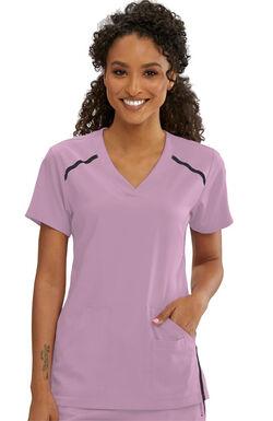 iMPACT by Grey's Anatomy Women's V-Neck Solid Scrub Top