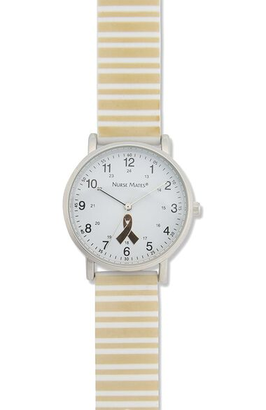Water Resistant Silicone Strap Children's Cancer Watch, , large