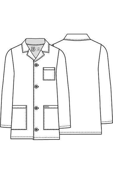 Professional Whites by Unisex Kids Lab Coat, , large