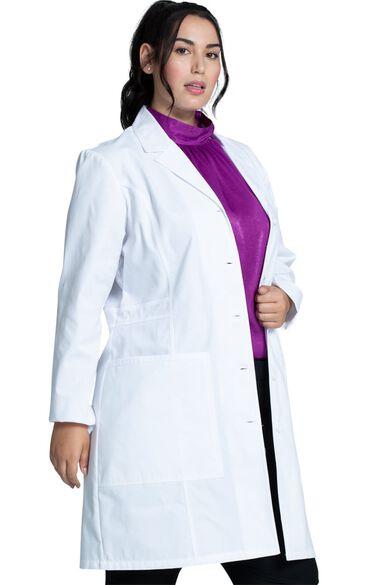 "Women's Notched 36"" Lab Coat, , large"
