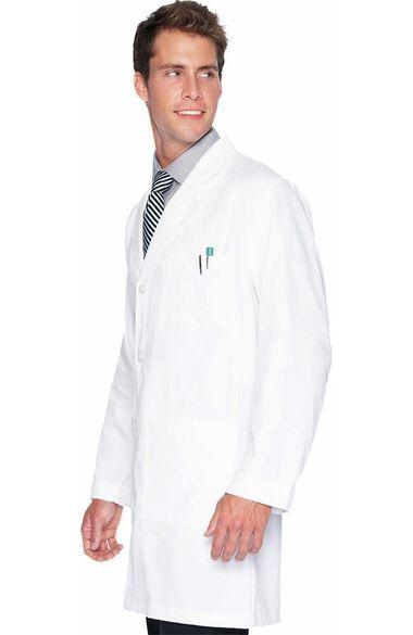 "Men's 5-Pocket Twill 37"" Lab Coat, , large"