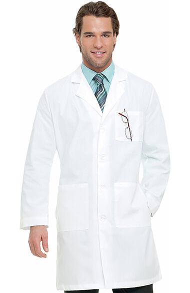 "Men's 3-Pocket Poplin 39½"" Lab Coat, , large"