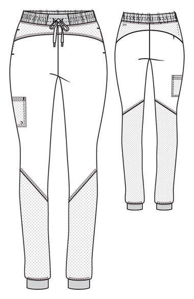Women's Boost Drawstring Jogger Scrub Pant, , large
