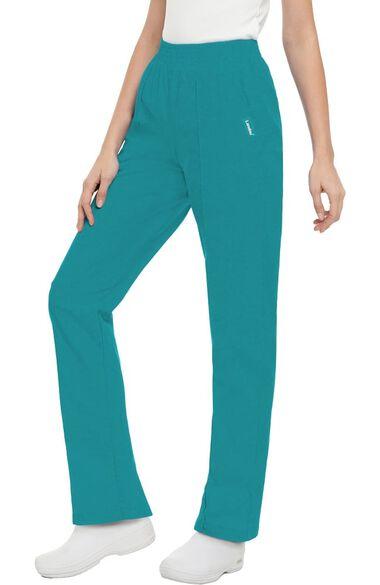 Women's Classic Fit Elastic Waist Scrub Pants, , large