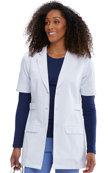 Clearance Women's Quarter Length Lab Coat, , large