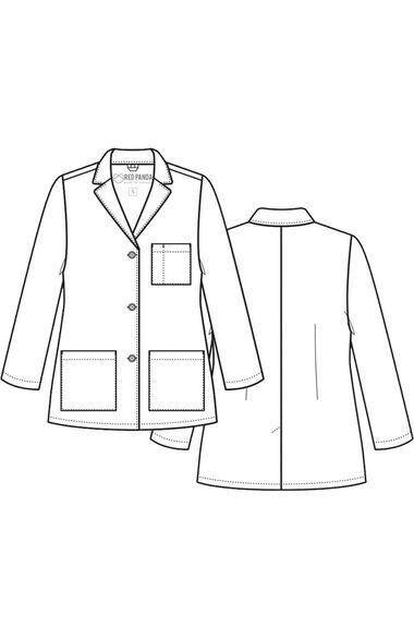 """Women's 29"""" Consultation Lab Coat, , large"""