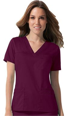 Women's Youtility Solid Scrub Top