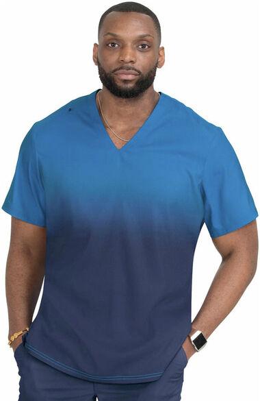 Men's Soul Ombre Scrub Top, , large