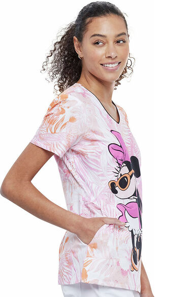 Women's Gotta Wear Shades Print Scrub Top, , large
