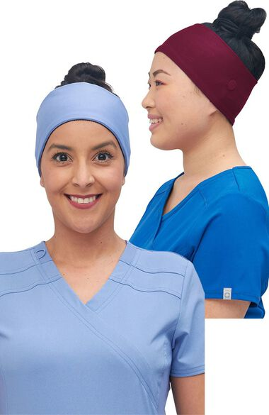Women's 2 Color Combo Basic Headband Set, , large