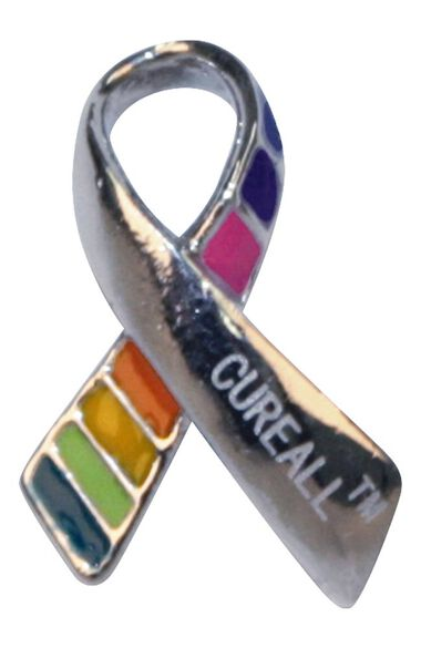 Cure All Cancer Awareness Pin, , large