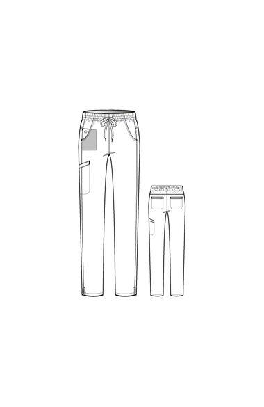 Women's Welt Cargo Scrub Pant, , large