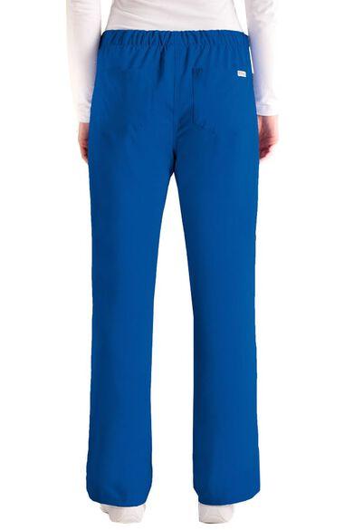 Grey's Anatomy Classic Womens Drawstring Cargo Scrub Pant, , large