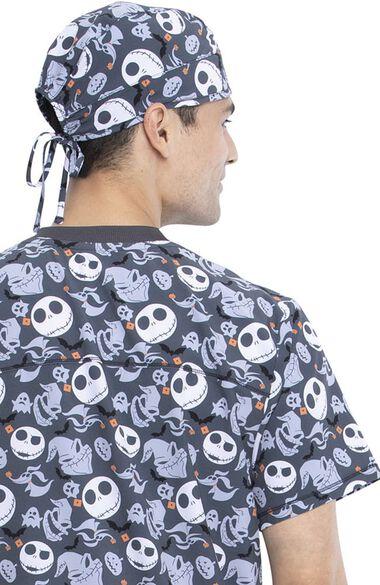 Unisex Boogie With Jack Print Scrub Hat, , large