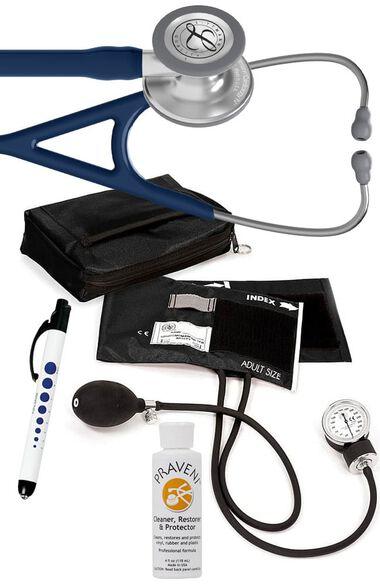 Cardiology IV Stethoscope, Prestige Aneroid Sphygmomanometer, Case, Penlight & Praveni Kit, , large