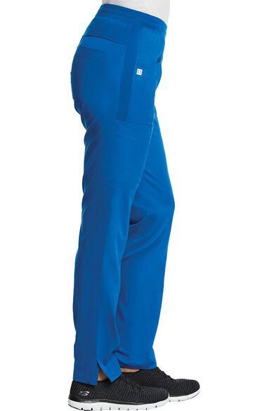 Women's Yoga Waistband Scrub Pant, , large