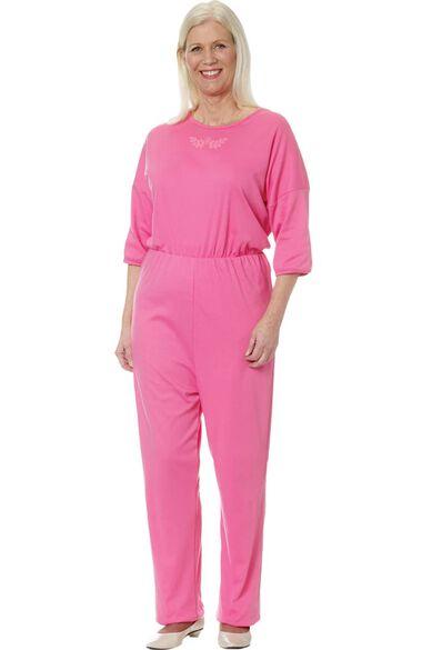 Silvert's Women's Anti-Strip Solid Jumpsuit, , large