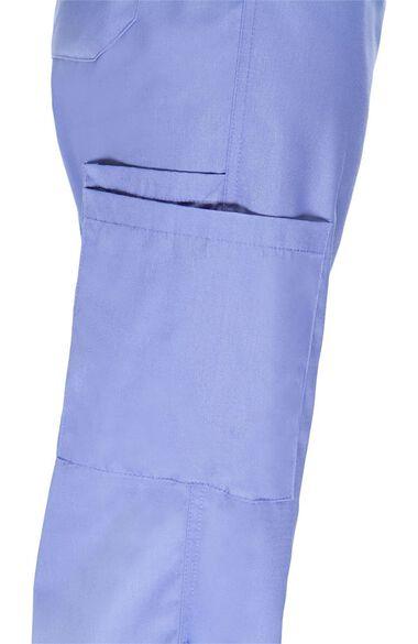 Women's V-Neck Scrub Top & Drawstring Cargo Scrub Pant Set, , large