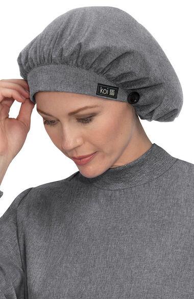 Unisex Bouffant Solid Scrub Scrub Hat, , large