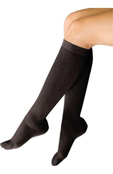 Women's 10-15 mmHg Support Trouser Sock, , large