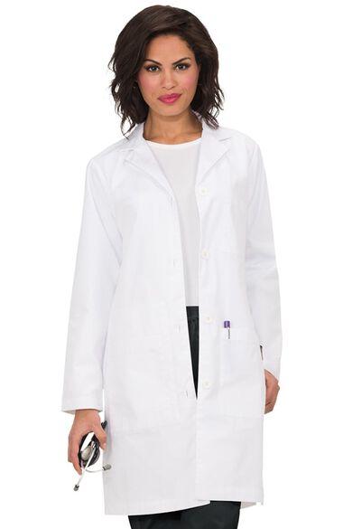"Clearance Unisex Riley 38"" Lab Coat, , large"