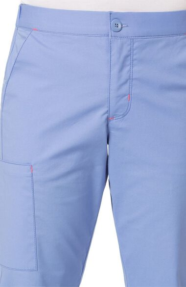 Clearance Women's Sky Zip Fly Trouser Scrub Pant, , large