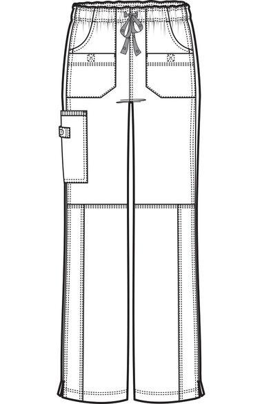 Clearance Women's Faith Multi-Pocket Cargo Scrub Pant, , large