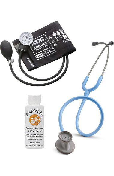 Lightweight II S.E. Stethoscope, ADC Prosphyg 760 Aneroid Sphygmomanometer & Praveni Kit, , large