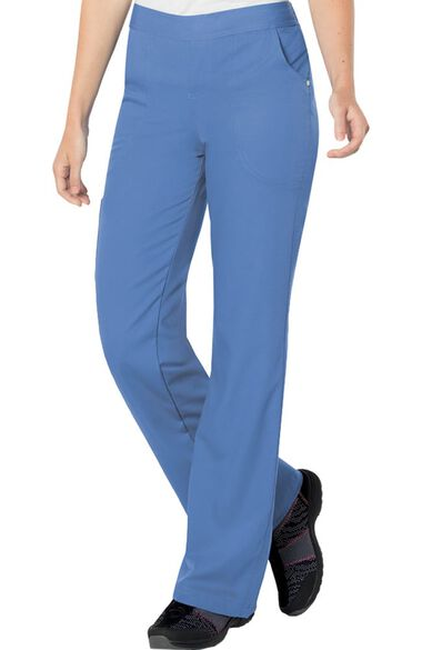Women's Elastic Waistband Scrub Pant, , large