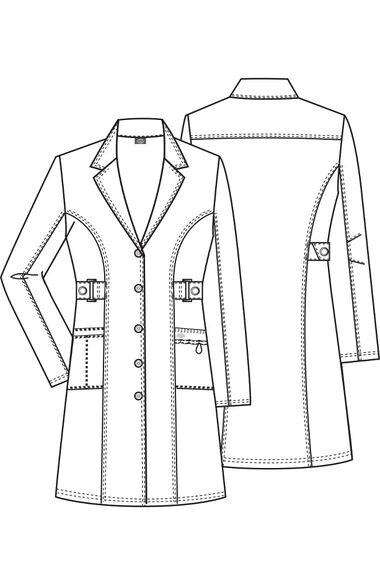 "Women's 36"" Lab Coat, , large"