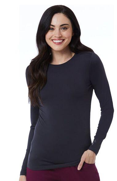 Women's Bestee Long Sleeve Underscrub T-Shirt, , large