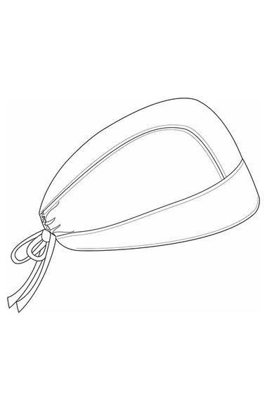 Unisex My Only Hope Print Scrub Hat, , large