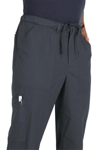 Clearance Men's Ryan Stretch Zip Fly Drawstring Scrub Pant, , large