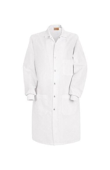 "Unisex Knit Cuff 41½"" Lab Coat, , large"