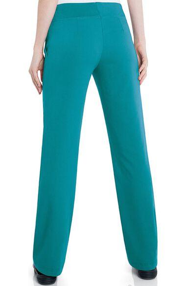 Women's Michelle Yoga Flare Leg Scrub Pant, , large